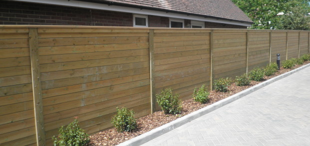 Acoustic sound proof fence