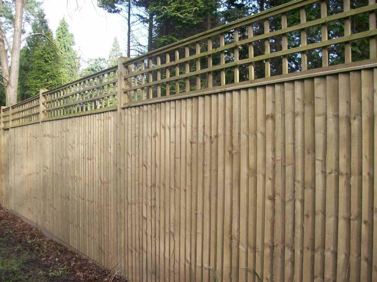 Closeboard Fence Trellis View Image Larger