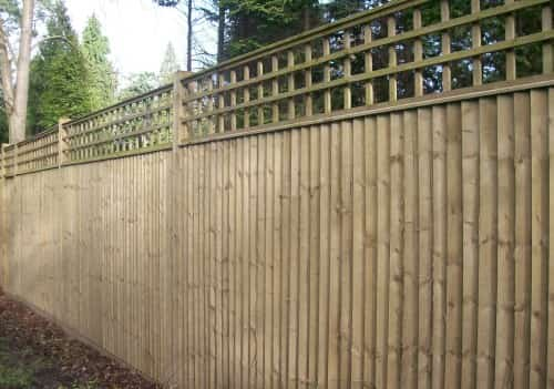 Closeboard with Trellis