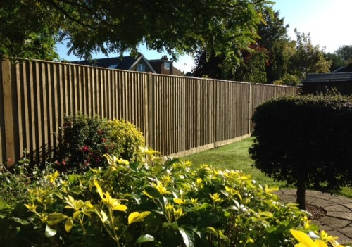 Close Board Garden Fencing