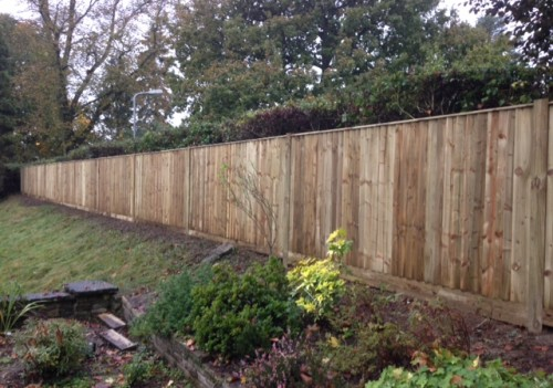 Closed Board Fencing Installation