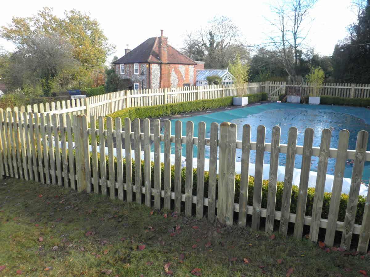 Picket Fencing High Quality Picket Fences Clayton S