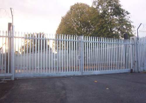 Security Fencing - Palisade Gates 2