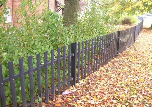 Security Fencing - ROUND TOP PALISADE