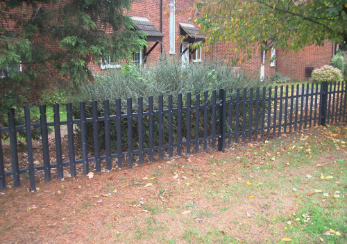 Security Fencing - Round Top Palisade